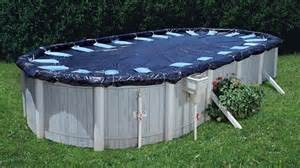 When is the best time to close above ground swimming pool for the winter season solar pool for Closing swimming pool above ground